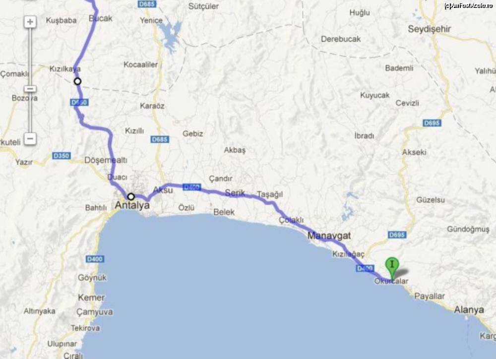 Cu Mașina De La București La Alanya și Inapoi Impresii Drumul