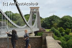 P07 [JUN-2017] Altă imagine cu Podul Suspendat Clifton din Bristol, Anglia.
