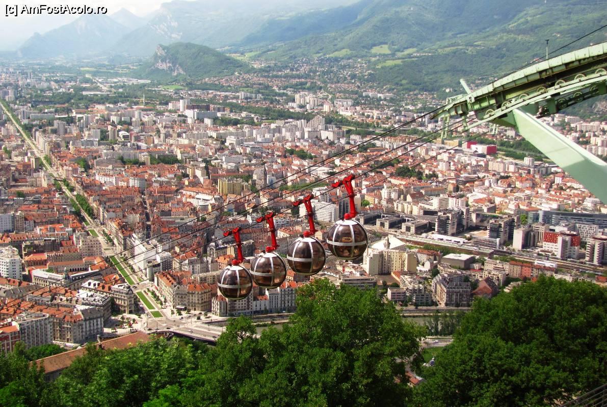 Harta Grenoble Franța Amfostacolo