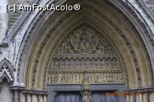 P06 [MAY-2018] Westminster Abbey - detaliu usa de la intrare pe fatada estica